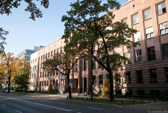 Будівля Міністерства закордонних справ Польщі у Варшаві