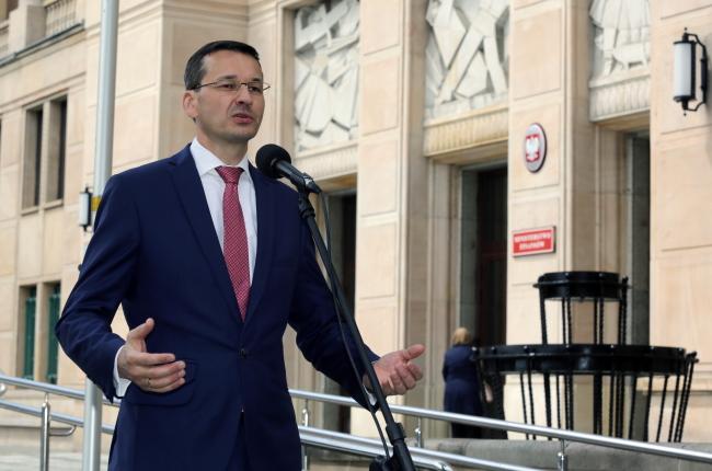 Polish Finance Minister Mateusz Morawiecki. Photo: PAP/Tomasz Gzell.