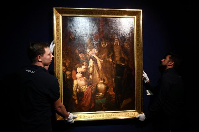 Картина «Вбивство Ваповського» Яна Матейка