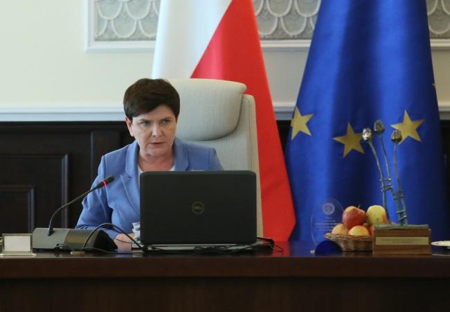 Polish Prime Minister Beata Szydło. Photo: PAP/Leszek Szymański.