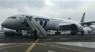 Największy Dreamliner LOT już w Polsce [WIDEO]