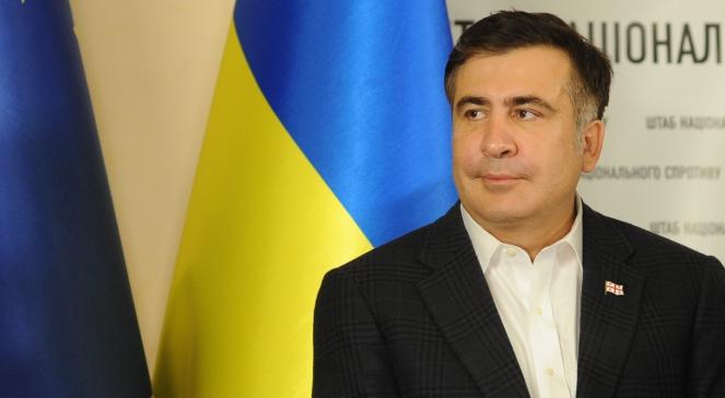 Екс-голова Одеської обласної державної адміністрації Міхеіл Саакашвілі