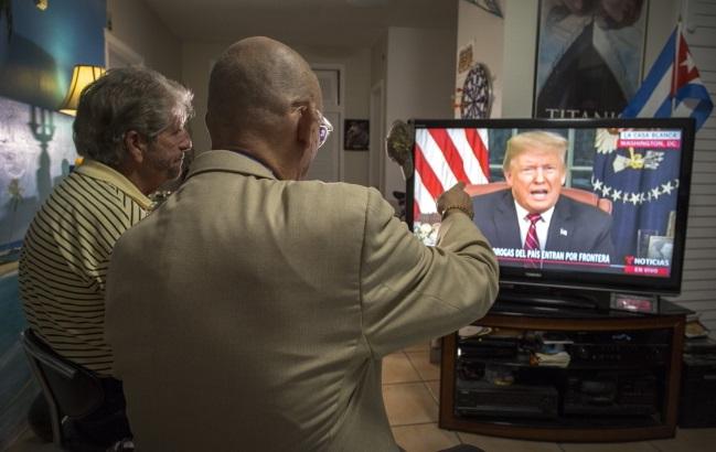 Обращение президента США Дональжа Трампа к нации