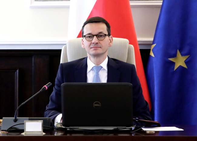 PM Mateusz Morawiecki. Photo: PAP/Tomasz Gzell