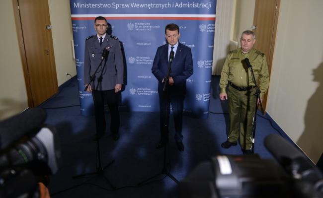 Спеціальна прес-конференція Маріуша Блащака