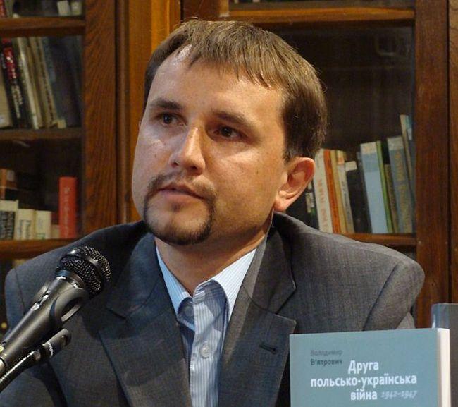 Президент Института национальной памяти Украины Владимир Вятрович.