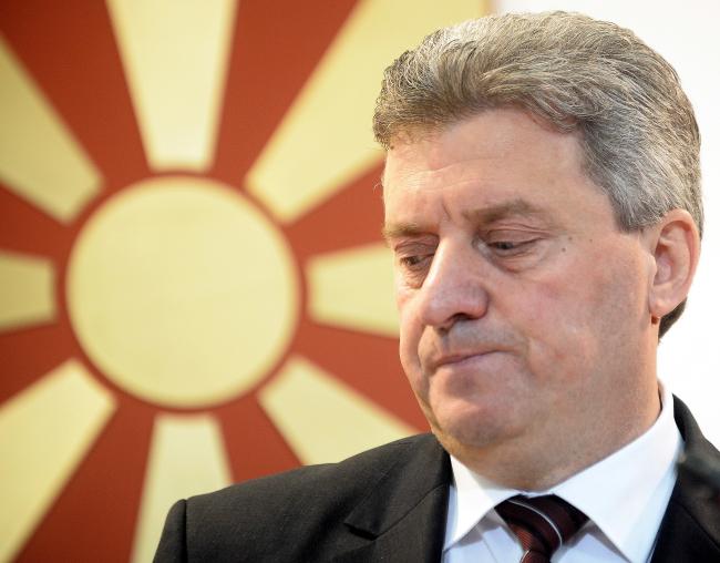 Прэзыдэнт Македоніі Георге Іванаў. PAP/EPA/NAKE BATEV