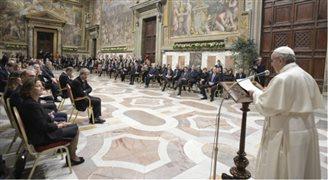 Przywódcy państw UE z wizytą u papieża Franciszka