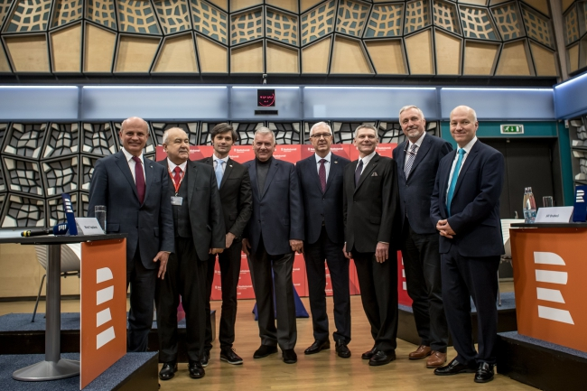 Кандидаты в президенты Чехии. ФОТО: PAP/EPA