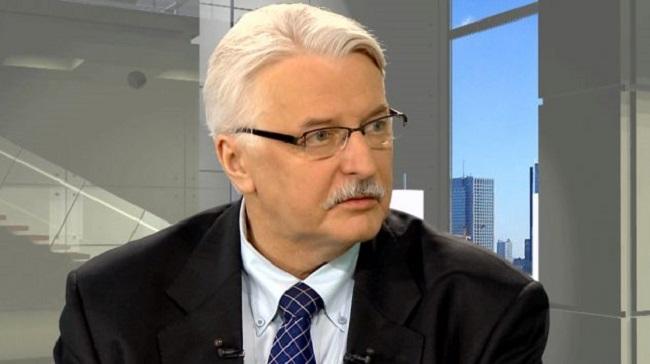 Министр иностранных дел Польши Витольд Ващиковский.