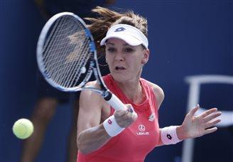 Radwańska wins all-Polish second round at US Open