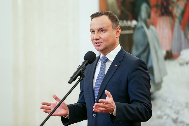 Andrzej Duda. Photo: www.flickr.com/photos/kancelariaprezydentarp