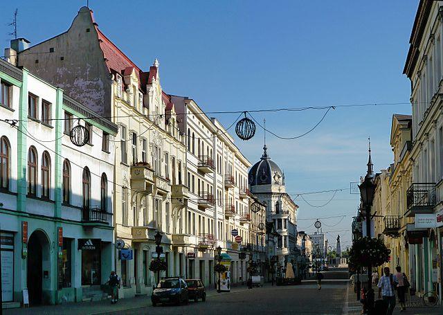 Piotrkowska street in Łódź. Photo: Wikimedia Commons