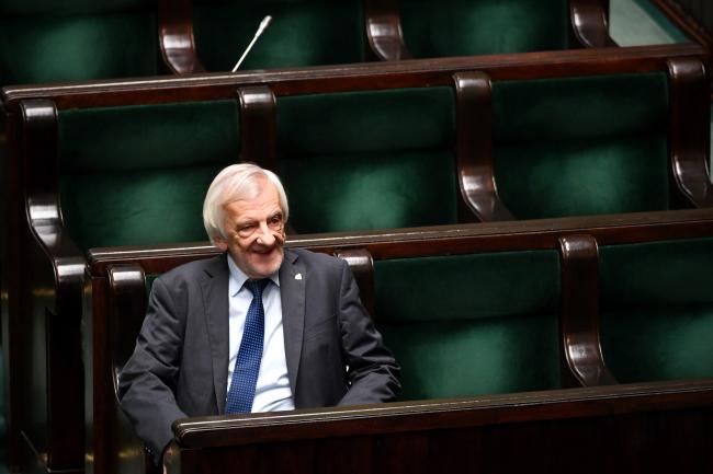 Председатель фракции партии «Право и справедливость» (ПиС) и вице-спикер Сейма Рышард Терлецкий.
