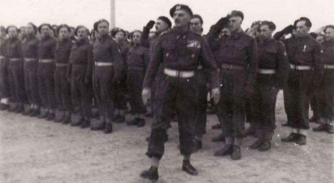 Gen. Władysław Anders i jego armia