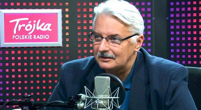 Министр иностранных дел Польши Витольд Ващиковский - гость Политического салона 3-й Программы Польского Радио