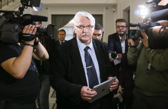 Будущий глава МИД Польши Витольд Ващиковский.