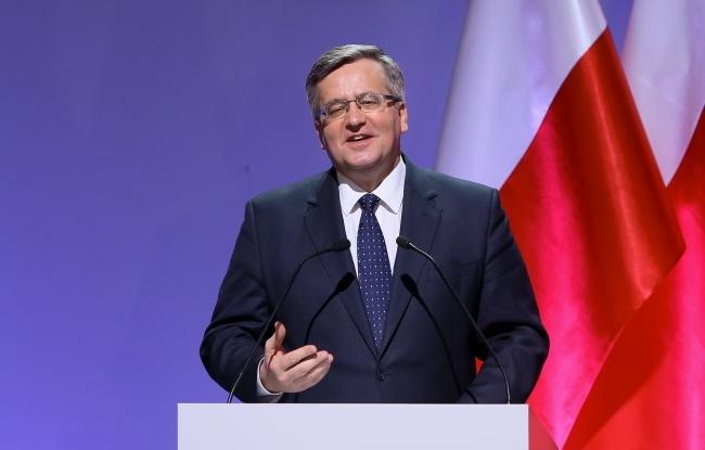 President Bronisław Komorowski. Photo: PAP/Paweł Supernak