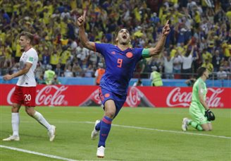 Colombia thrashes Poland in football World Cup