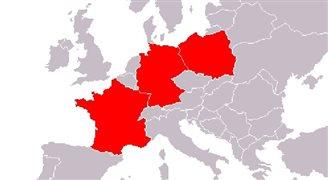 Weimarer-Dreieck-Treffen in Frankreich