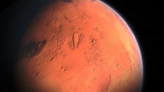 Полька составила карту рельефа Марса