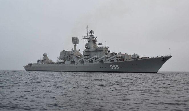 Ракетний крейсер «Маршал Устінов»