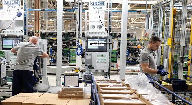 Завод по изготовлению двигателей для автомобилей марки Opel в местности Тыхы.