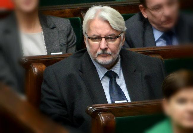 Witold Waszczykowski. Photo: PAP/Jakub Kamiński.