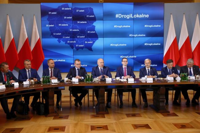 Зустріч прем'єр-міністра Матеуша Моравєцького з воєводами, 11 червня 2018 року