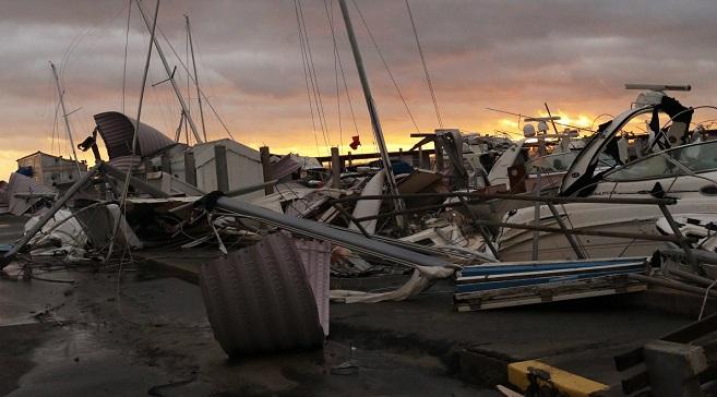 Штат Флорида после урагана.