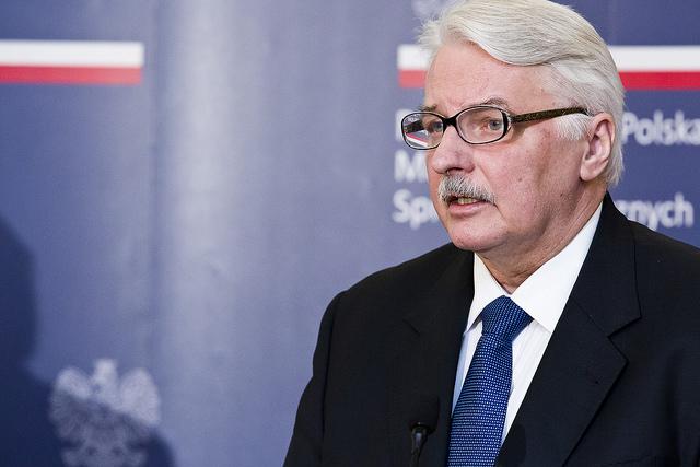 Witold Waszczykowski. Photo: Sebastian Indra/MSZ.