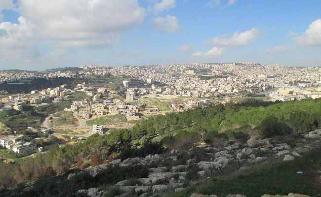Mount Precipice, Nazareth, close to where the murder took place. Photo: wikimedia commons/Dr. Avishai Teicher