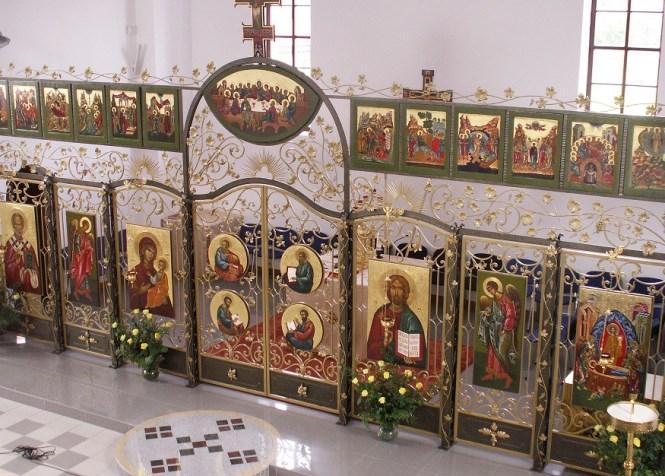 Іконостас у Кошаліні, Церква Успіння Пресвятої Богородиці