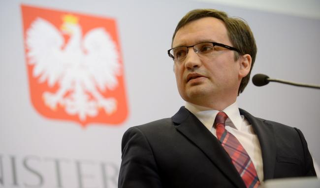 Министр юстиции Польши, генеральный прокурор Збигнев Зёбро.