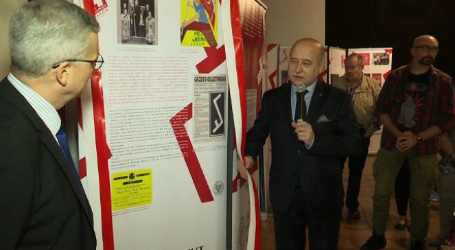 Uroczyste otwarcie wystawy IPN