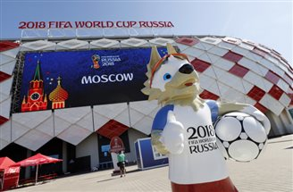 Poles descend on Moscow ahead of football World Cup match