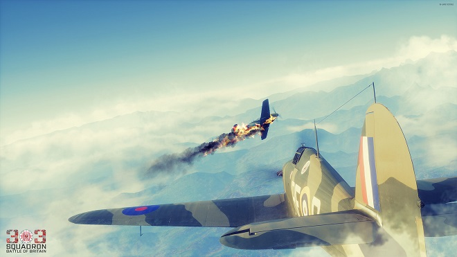"Screen z gry ""303 Squadron: Battle of Britain"""