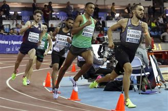 Pole wins 800 metre race in Madrid