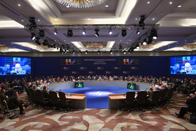 NATO's Military Committtee convenes in Warsaw. Photo: PAP/Jacek Turczyk