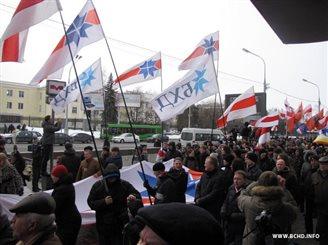 Рымашэўскі спадзяецца на ўдзел лідараў БНК у маршы 15 сакавіка