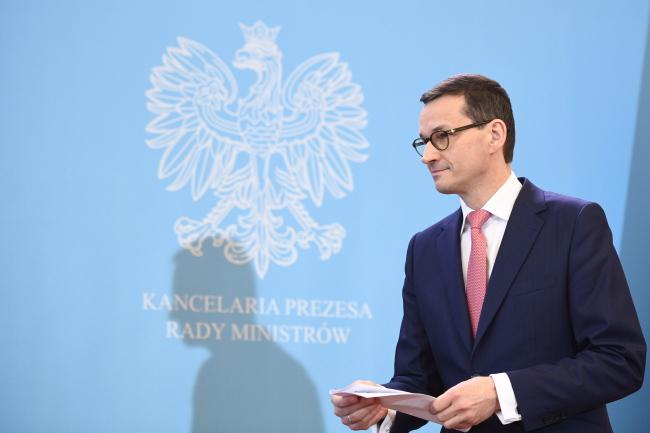 Премьер Польши Матеуш Моравецкий.