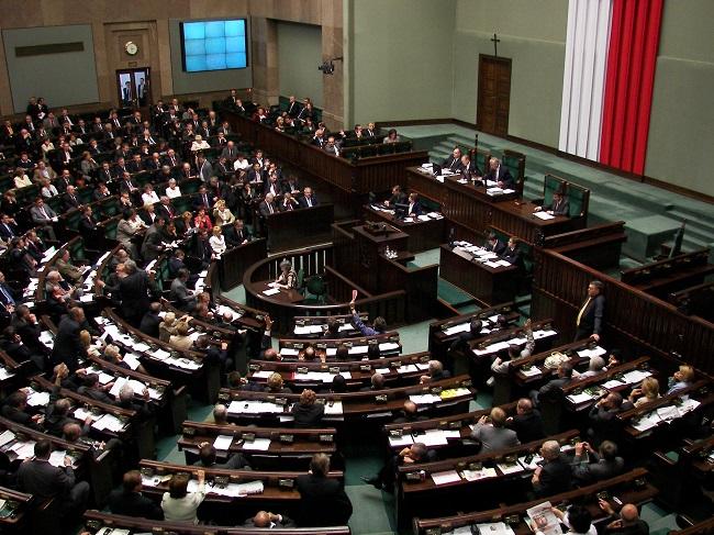 Das polnische Parlament