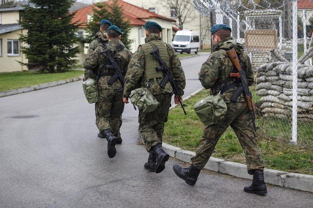 Польские солдаты на учениях НАТО в Польше