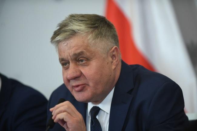 Agriculture Minister Krzysztof Jurgiel. Photo: PAP/Bartłomiej Zborowski