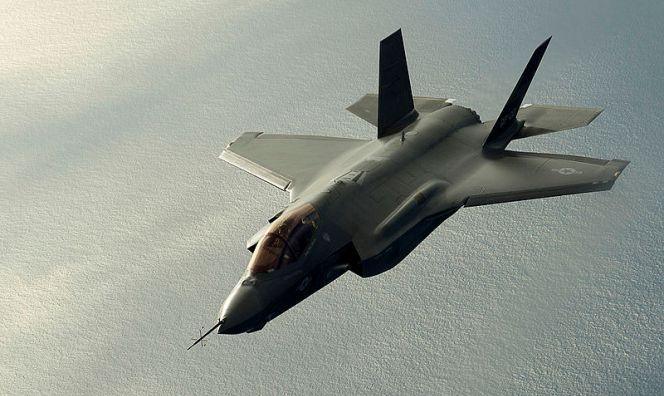 Lockheed Martin F-35 fighter.