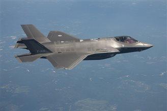ЗША перадалі Турцыі першы зьнішчальнік F-35