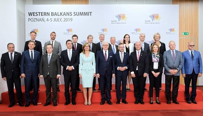 Участники саммита Западных Балкан в Познани