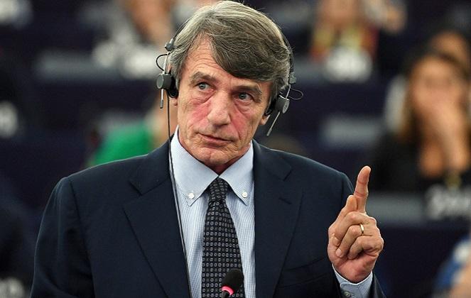 Новоизбранный председатель Европейского парламента Давид-Мария Сассоли