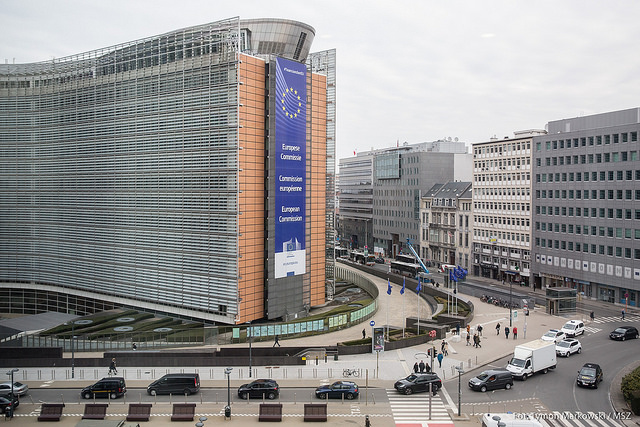 European Commission headquarters. Photo: Tymon Markowski/MSZ.