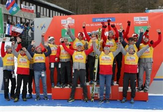 Poland wins ski jumping Nation Cup